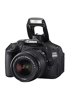 Digitalkamera System EOS 600D+EF-S 18-55mm IS II