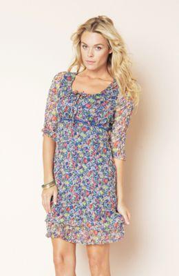 dámské květované šaty