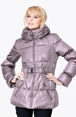 lesklá podzimní dámská bunda