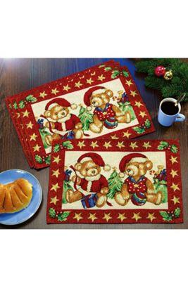 sváteční vánoční prostírání