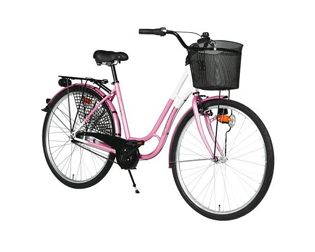 "28"" Damnostalgi-cykel med fotbroms"